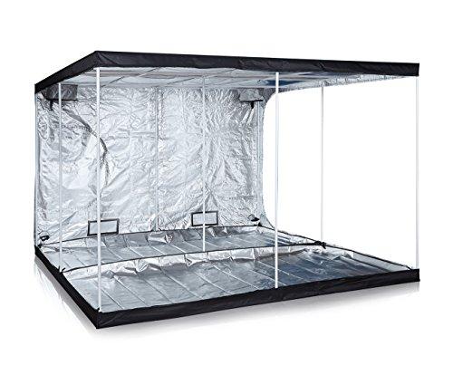 TopoLite 120'x120'x80' Indoor Grow Tent Hydroponic Growing Dark Room w/Plastic Corner...
