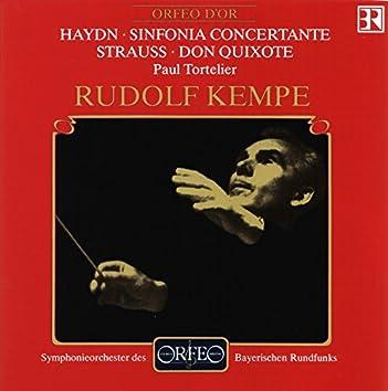 Haydn: Sinfonia concertante - Strauss: Don Quixote