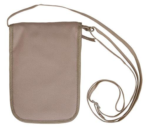 Eagle Creek Undercover Wallet DLX, Neck Pouche, 20 cm, Khaki