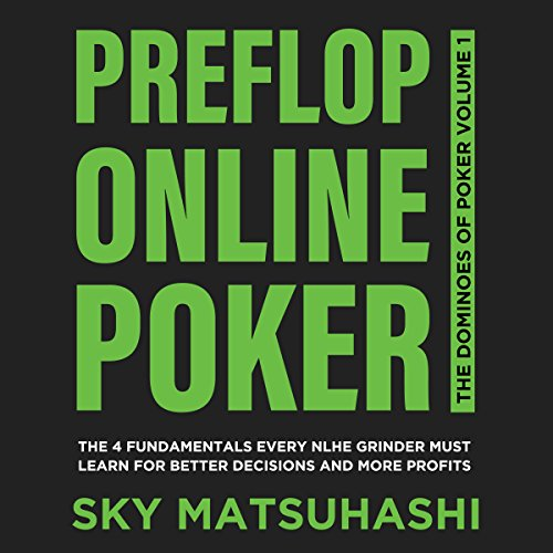 Preflop Online Poker audiobook cover art
