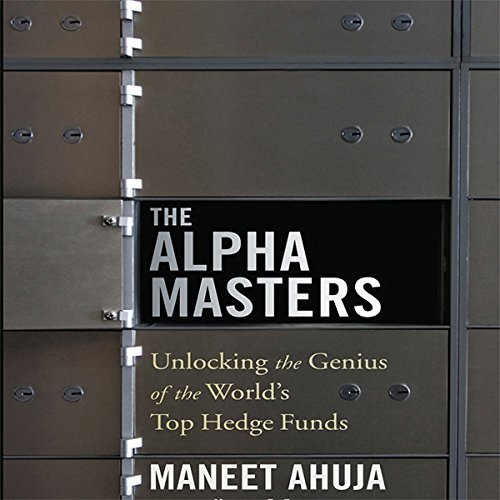 The Alpha Masters audiobook cover art