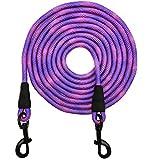 MayPaw Hundeleine mit Karomuster, 3,6 m, 6,1 m, 9 m, 15,2 m, langes Seil, ideal für Training,...