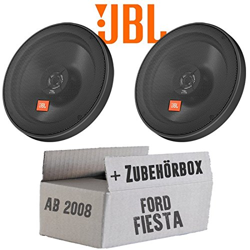 JBL STAGE2 624 | 2-Wege | 16cm Koax Lautsprecher - Einbauset für Ford Fiesta MK7 Front Heck - JUST SOUND best choice for caraudio