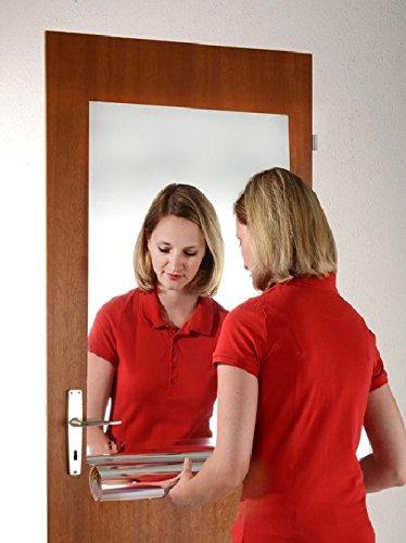 JOKA International Selbstklebende Spiegelfolie Spiegel Folie, zum basteln, dekorieren, für Vitrine