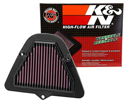 K&N Engine Air Filter: High Performance, Premium, Powersport Air Filter: Fits 2009-2018 KAWASAKI (VN1700, Vulcan Vaquero, Voyager ABS, Vulcan Nomad, Classic, Tourer ABS, Vulcan Classic LT) KA-1709