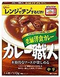 カレー職人 老舗洋食カレー 中辛 箱170g