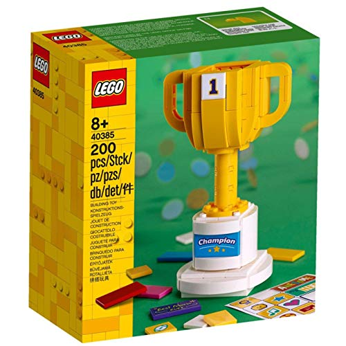 Unbekannt Lego Siegerpokal 40385 Champion Iconic Pokal Trophy
