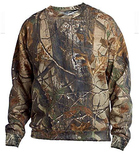 Joe's USA - Realtree Crewneck Sweatshirts Camo Hunting Sweatshirt