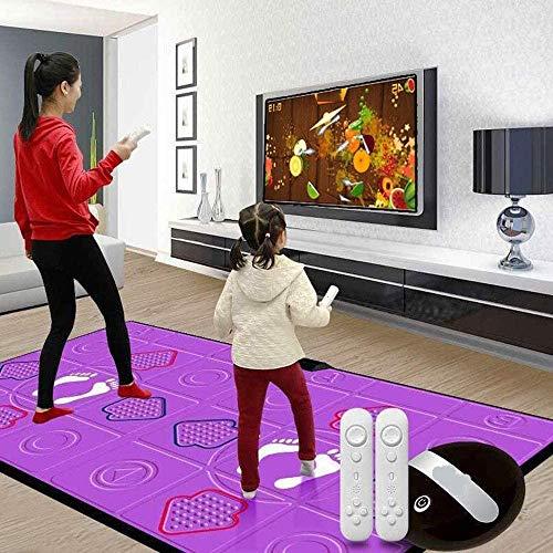 LXYZ 3D Tanzmatten,Tanzmatte Drahtloses Doppelspiel Yoga zum Abnehmen Silikonmassage, Fernsehcomputer, Lernspielzeug für Mädchen Jungen 112