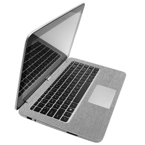 Save %7 Now! Skinomi Brushed Aluminum Full Body Skin Compatible with HP Split 13 x2 Ultrabook 13t-g1...