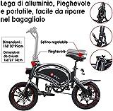 Zoom IMG-2 dyu bicicletta elettrica pieghevole 14