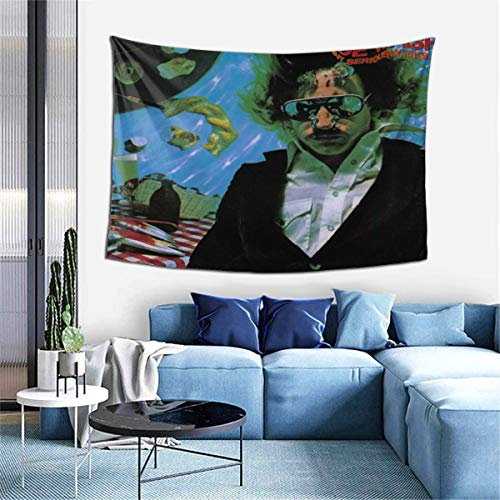 KisdFinda Joe Walsh Music Band Joe Walsh But Seriously, Folks Tapestry Wall Hanging Home Dorm for Bedroom Living Room Window Curtain Tapestries Wall Blanket 60 X 40 Inches
