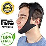 Anti Snore Snoring Chin Strap Devices for Men Women Kids, Resmed Cpap Supplies Chin Straps, Anti Snoring Snore Chin Strap Large, Cpap Chin Strap XL Pads Respironics, Anti My Snoring Snore Solution