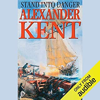 Stand into Danger audiobook cover art