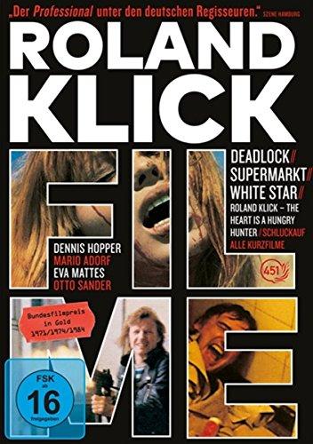 Roland Klick - Deadlock / Supermarkt / White Star / Schluckauf / Roland Klick - The H... [5 DVDs]