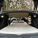 TESCAMP Camping Mattress CertiPUR-US Memory Foam Car Mattress, Storage Bag & Removable Sheet Provided for Tesla Model 3, Y, and Other Cars, Portable, Foldable, in Car Sleeping, Twin Size