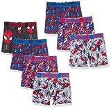 Spiderman Boys' Underwear Multipacks, 7pk Athletic, 10