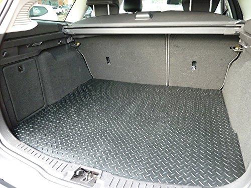 Aangesloten Essentials 5068265 Aangepaste Duty Rubber Mat Boot Liner voor Jaguar X Type 2001-Onbijgesneden (Geschikt voor Zware Reiniging & Jet Wassen)