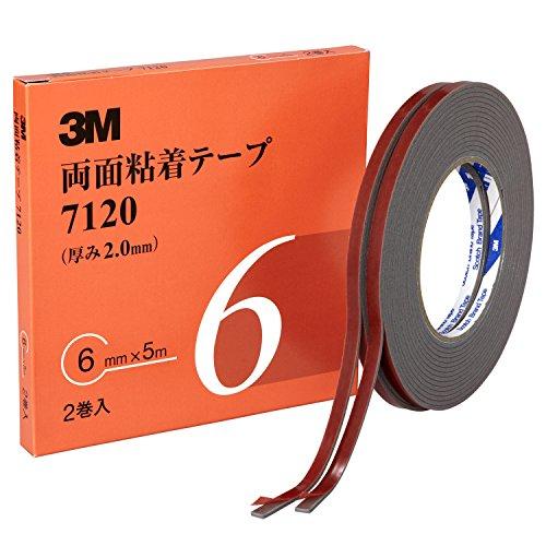 3M 両面粘着テープ 7120 6mm幅x5m 7120 6 AAD