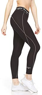 Thermajane Women Compression Pants - Athletic Tights- Leggings for Yoga, Runing, Workout and Sports