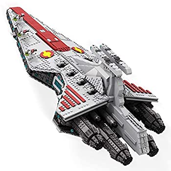 Venator-Class Republic Attack Cruiser Building Kit MOC Model Toys Building Tiles for Creative Open-Ended Play Building Blocks for Kids and Adult 2565 PCS
