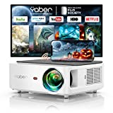 YABER 5G WiFi Bluetooth Projector 9000L Upgrade Full HD Native 1920×1080P Projector, 4P/4D Keystone Support 4k&Zoom, Portable Wireless LCD LED Home&Outdoor Video Projector for iOS/Android/PS4/PPT