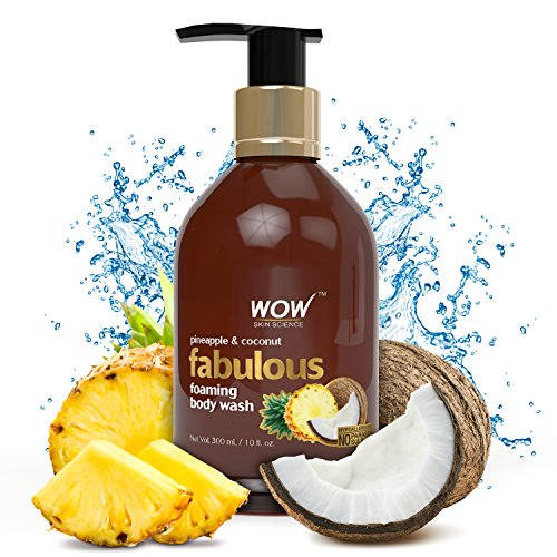 WOW Pineapple Coconut No Parabens Sulphates Shower Gel 30