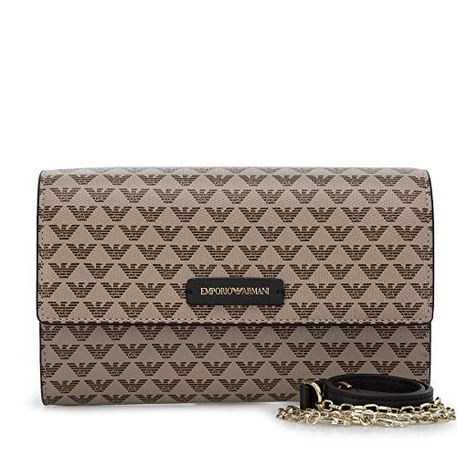 Emporio Armani Y3H186-YFH1A-88409 Bisacce/Tracolle Donne Taupe - Unica - Tracolle