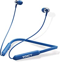 EDICT by Boat DynaBeats EWE02 Wireless Bluetooth in Ear Neckband Headphone with Mic (Blue)