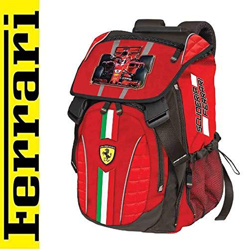 Ferrari Schulrucksack Scuderia Scuola Tempo Libero GITA Formula 1 Cavallino 2019 + Stift + Omaggio SEGNALIBRO