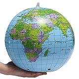 LONGJUAN-C Leuchtglobus Swivel Globe aufblasbare Weltkugel der Erde Karte...