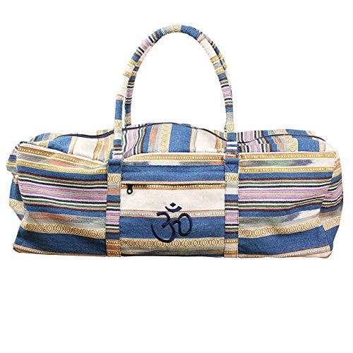 Yoga-mad Deluxe Yoga Kit Bag Blue Bolsa, Unisex Adulto, Azul, 62 x 21 x 23 cm