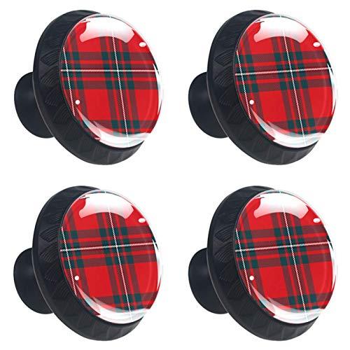 KAMEARI 4 pomos para cajones con forma de círculo, color azul, blanco, negro, con tornillos, para casa, cocina, oficina