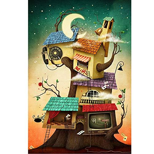 Rompecabezas para adultos, 1000,1500,2000,3000,4000,5000,6000 Pieza, Puzzle Pinturas Intelectuales Regalo Puzzle Juguetes Juguetes -Toys Regalo para el hogar Decoración de la pared - Casa creativa