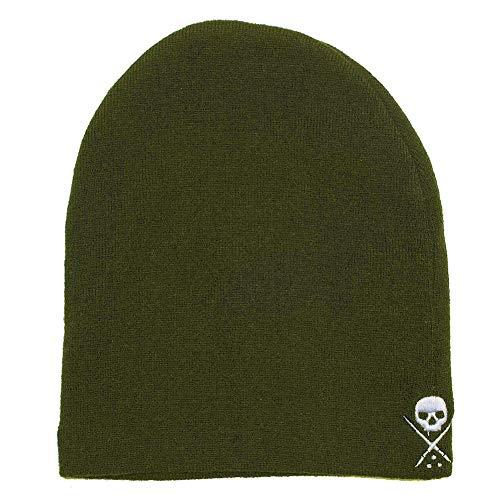 Sullen Men's Standard Issue Beanies Olive Green White