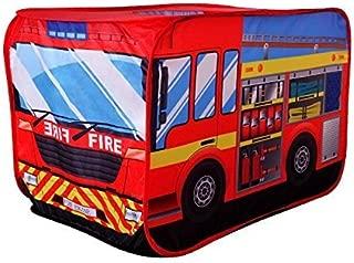 POCO DIVO Fire Engine Truck Pop-up Play Tent Kids Pretend Vehicle