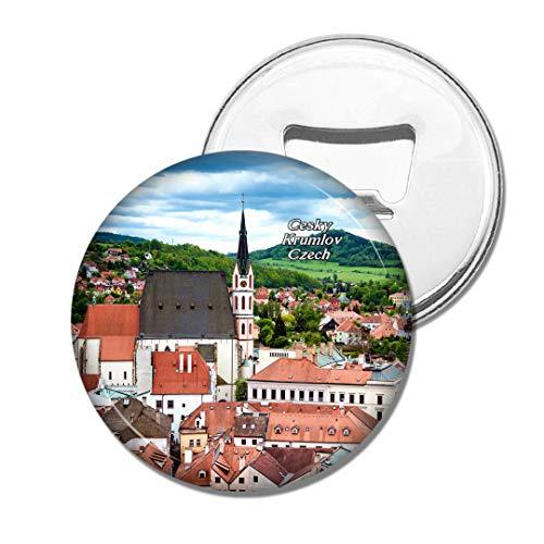 Weekino Tschechische Kirche von St.Vitus Cesky Krumlov Bier Flaschenöffner Kühlschrank Magnet Metall Souvenir Reise Gift