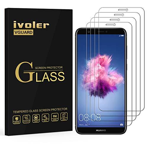 iVoler [4 Pack] Pellicola Vetro Temperato per Huawei P Smart, Pellicola Protettiva, Protezione per Schermo
