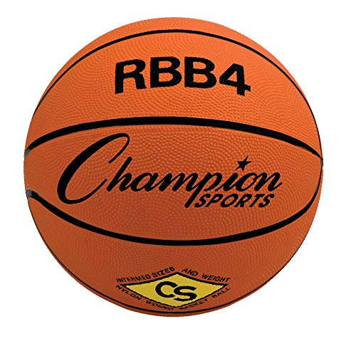 Why Should You Buy Champion Sports Intermediate Rubber Basketball, Orange, Pack of 3