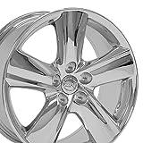 OE Wheels LLC 18x8 Wheels Fit Lexus, Toyota - LS460 Style Chrome Rims SET