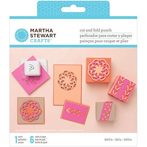 Martha Stewart verschiedenen Schnitt und Falten Punch-Dahlia