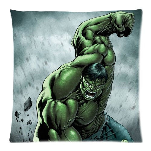 Incredible Hulk Pillow Cases 18x18 inch