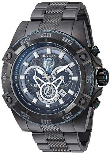 INVICTA Marvel Men Quartz 52mm Stainless Steel Black Black dial