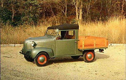 1940 Crosley Garden Wagon Cars Original Vintage Postcard