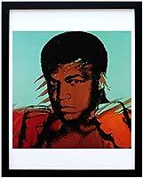 アートショップ フォームス アンディ・ウォーホル「モハメド・アリ」展示用フック付ポスター ポップアート