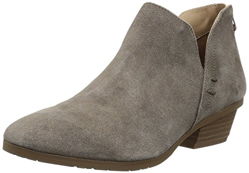 Kenneth Cole REACTION Women's Side Way Low Heel Ankle Bootie Boot, Concrete, 9 M US