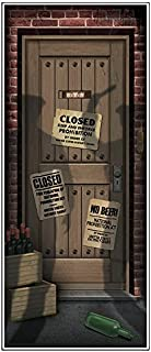 Beistle Speakeasy Door Cover | Theme Party Supplies and Decoration (3-Pack)