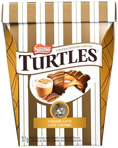 NESTLÉ TURTLES Chocolate Caramel Latte; Limited Edition; 317g Box