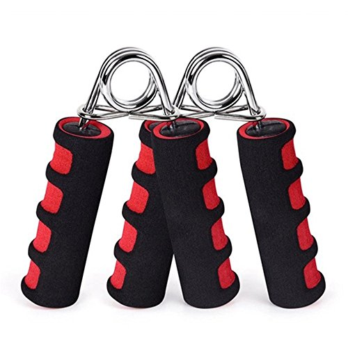 BOOMIBOO Hand Grip Strengthener Hand Soft Foam Manual Exerciser Rapid Increase of Wrist Forearm and Finger Strength Exercise Equipment 2 Pack