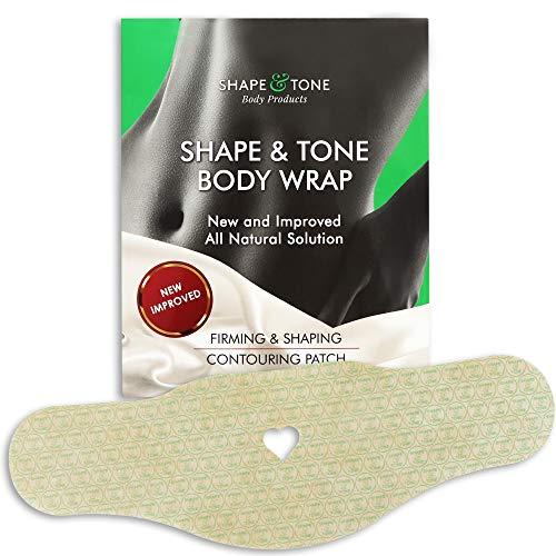 Straffende und formende, konturierende Patch Slimming Body Wrap. Neue verbesserte, vollständig natürliche Anti-Cellulite-Lösung (5 WRAPS)